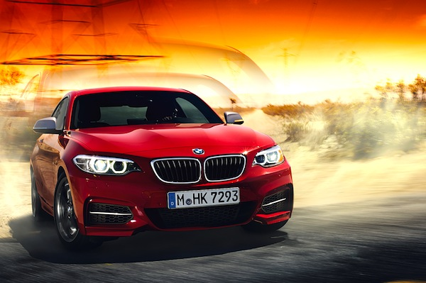 BMW 2 Series Australia March 2014