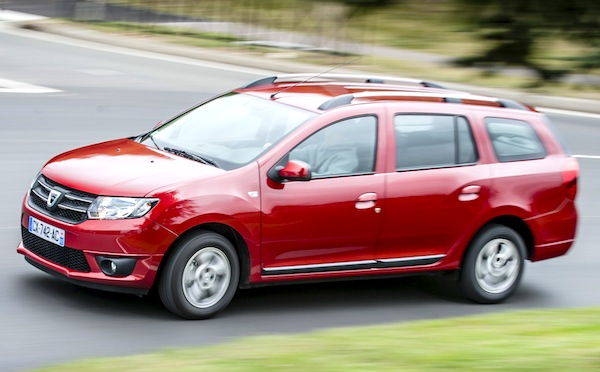 Dacia Logan Netherlands March 2014. Picture courtesy of automobile-magazine.fr