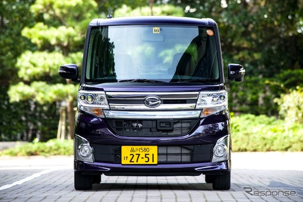 Daihatsu Tanto Japan 2014. Picture courtesy of response.jp