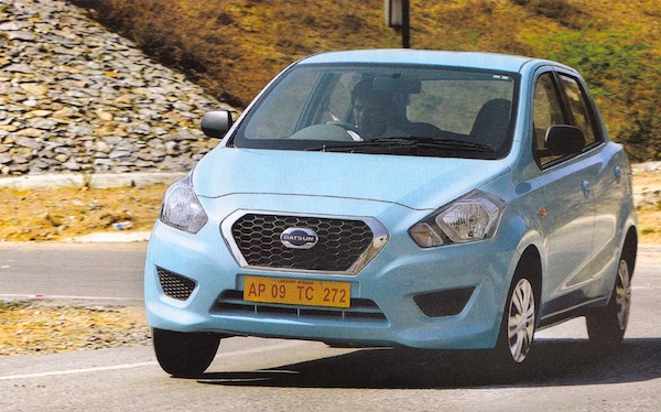 Datsun Go India March 2014. Picture courtesy of What Car India
