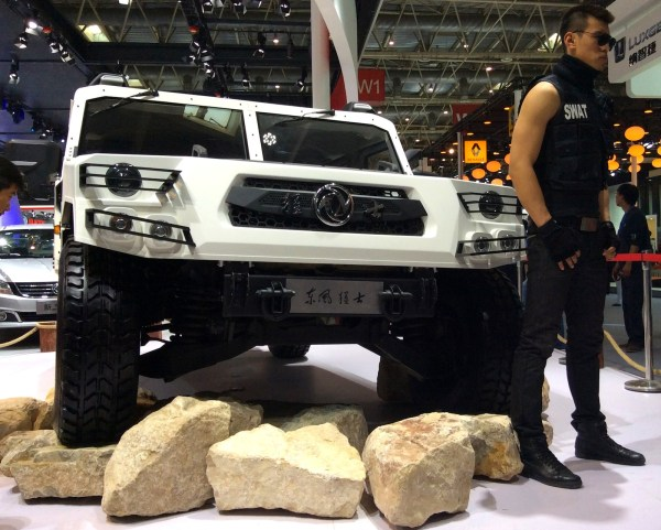 Dont mess with my Dongfeng Beijing 2014