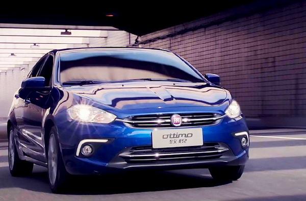 Fiat Ottimo China March 2014. Picture courtesy of bitauto.com