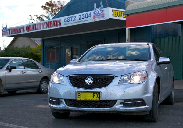 Holden Commodore ute Bourke