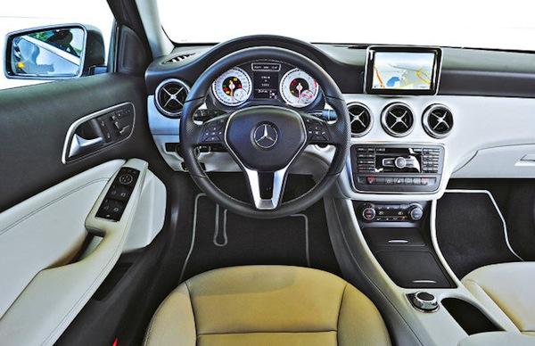 Mercedes-A-Class-Interior. Picture courtesy Auto BIld