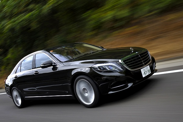 Mercedes S Class Japan March 2014. Picture courtesy of carsensor.jp