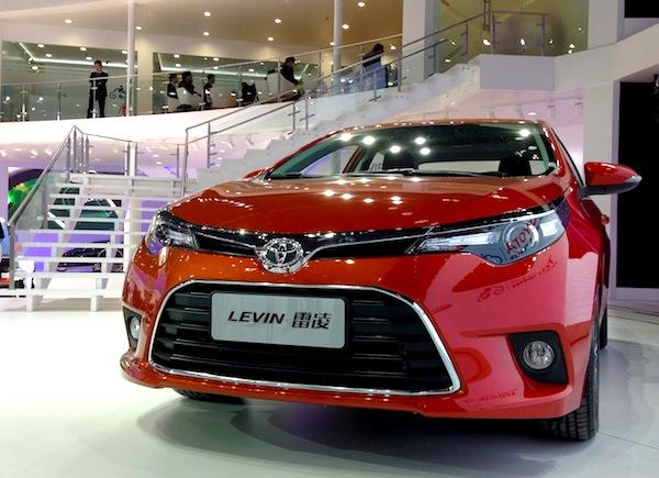 Toyota Levin Beijing 2014