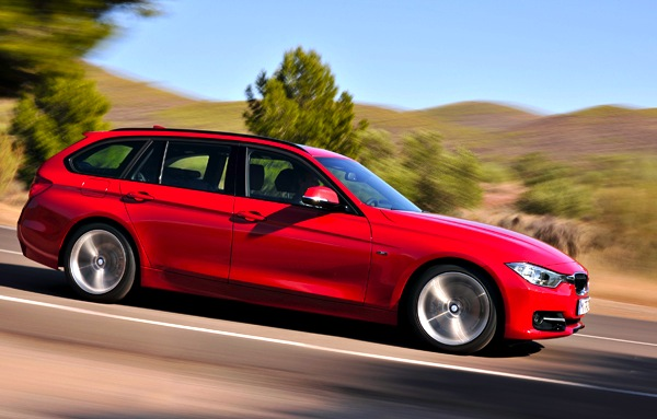 BMW 3 Series UK April 2014
