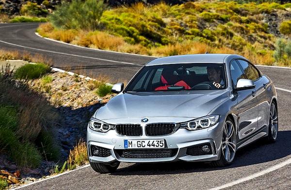 BMW 4er Europe April 2014. Picture courtesy of autobild.de