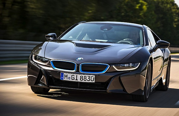 BMW i8 Europe June 2014. Picture courtesy of autobild.de
