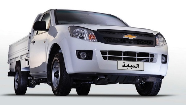 Chevrolet TFR Egypt February 2015. Picture courtesy of egyspeed.com