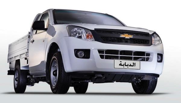 Chevrolet TFR Egypt November 2015. Picture courtesy of egyspeed.com