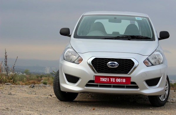 Datsun Go India April 2014. Picture courtesy of motorbash.com