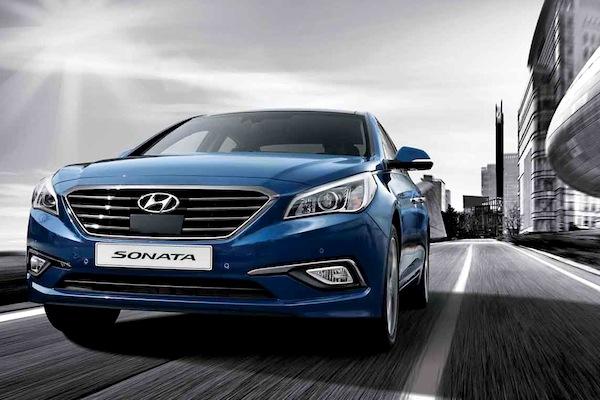 Hyundai Sonata South Korea April 2014