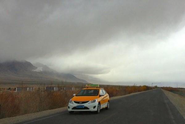 Hyundai Verna Karakoram Highway