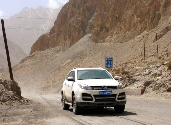 JMC Yusheng Karakoram Highway