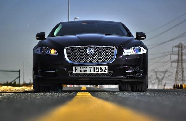 Jaguar XJ Gulf March 2014. Picture courtesy of motoringme.com