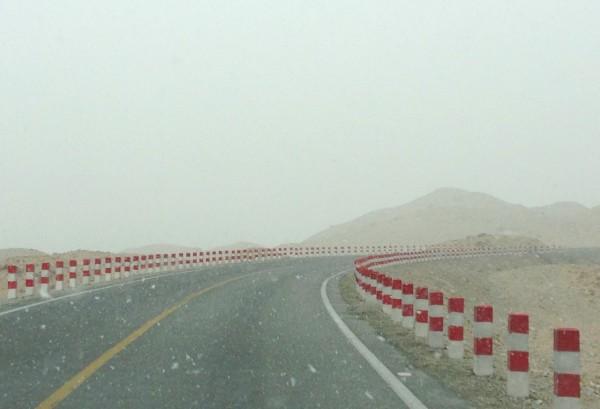 Karakoram Highway Snow