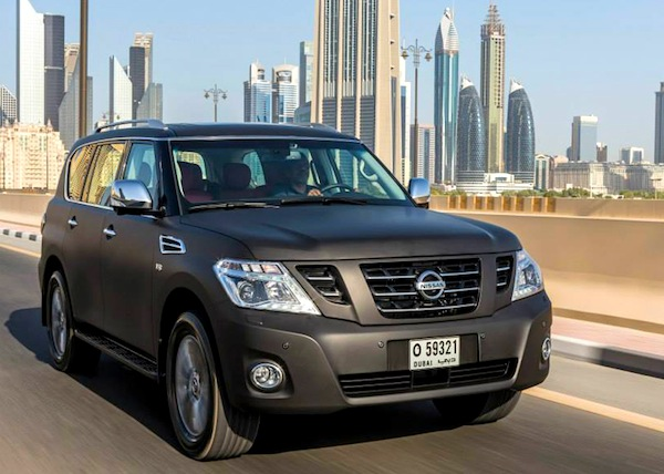 Nissan Patrol VVIP Gulf March 2014. Picture courtesy of drivearabia.com