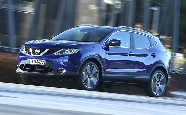 Nissan Qashqai Europe April 2014. Picture courtesy of automobile-magazine.fr