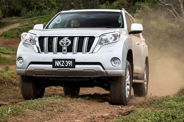 Toyota Prado Australia 2015. Picture courtesy of themotorreport.com.au
