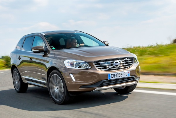 Volvo XC60 Cyprus August 2014. Picture courtesy of largus.fr