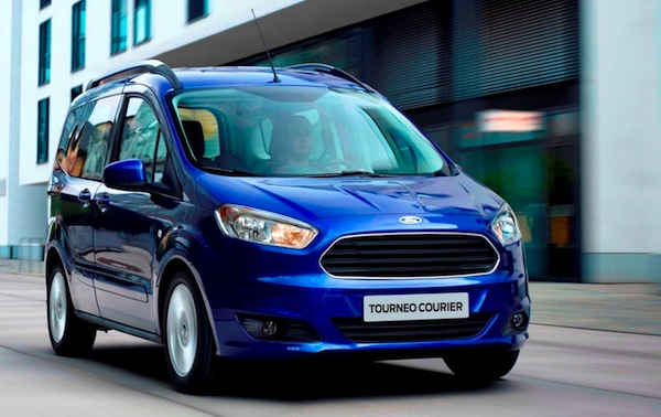 Ford Courier Turkey May 2014