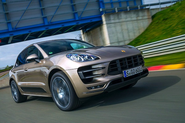 Porsche Macan Russia 2015. Picture courtesy of autobild.de