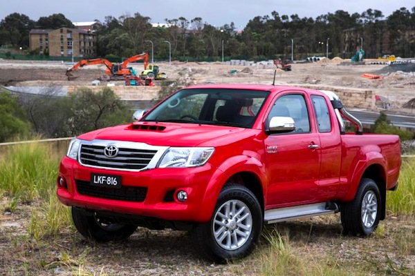 Toyota Hilux Panama 2013