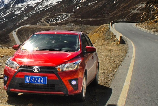 Toyota Yaris Thailand 2014. Picture courtesy of cheshili.com