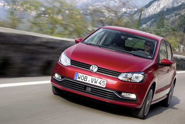VW Polo Slovenia May 2014. Picture courtesy of largus.fr