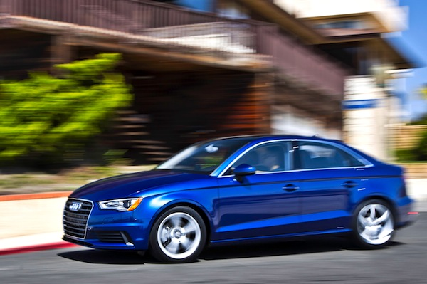 Audi A3 USA June 2014. Picture courtesy of motortrend.com