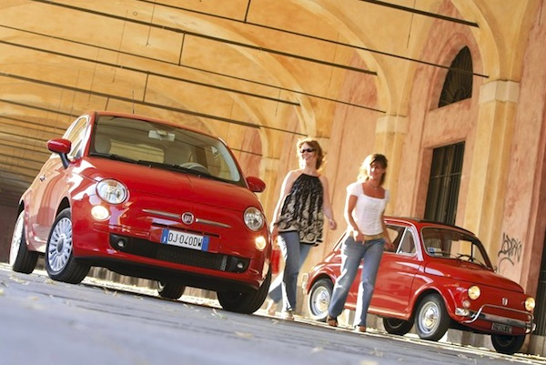 Fiat 500 Italy June 2014. Picture courtesy of automobile-magazine.fr