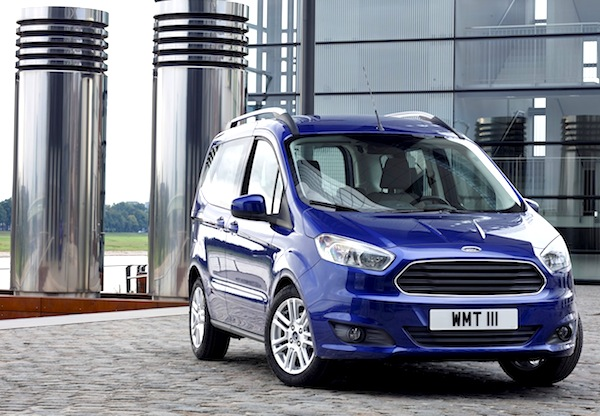 Ford Courier Turkey June 2014