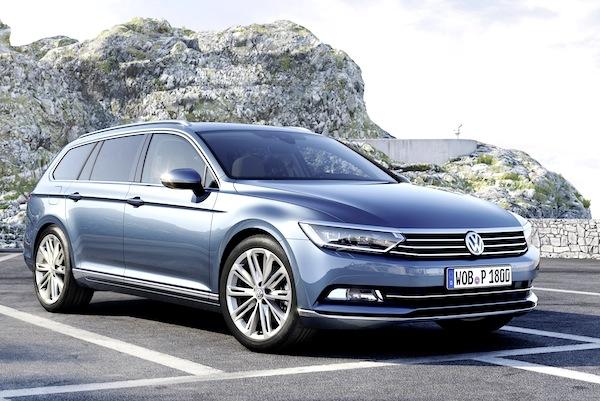 VW Passat Germany June 2014