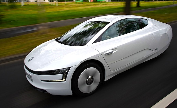 VW XL1 World 2013. Picture courtesy of treehugger.com