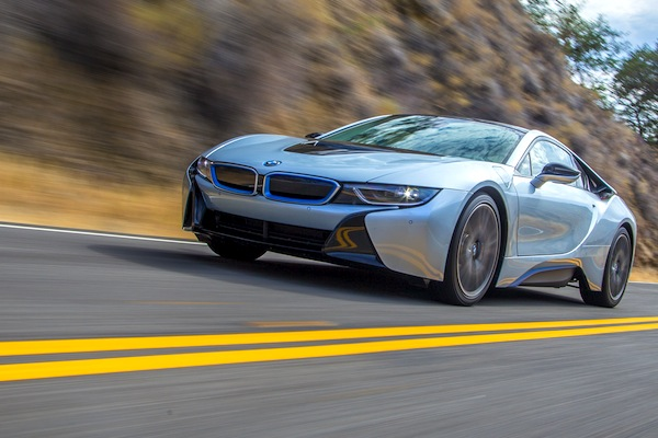 BMW i8 Germany July 2014. Picture courtesy of motortrend.com