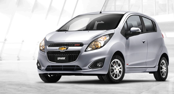 Chevrolet Spark Colombia June 2014