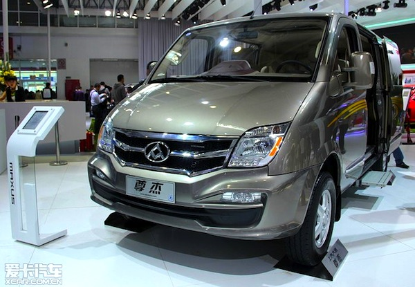 Maxus V80 China July 2014. Picture courtesy of xcar.com