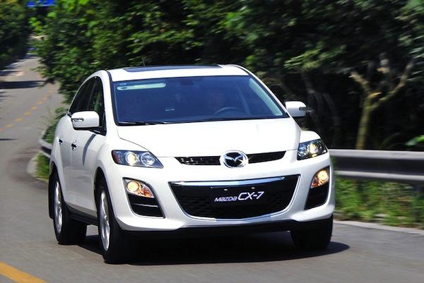 Mazda CX-7 China July 2014. Picture courtesy of xgo.com