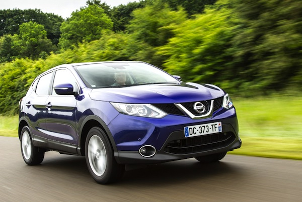 Nissan Qashqai Latvia 2014. Picture courtesy of largus,fr