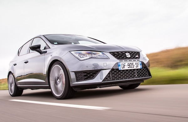 Seat Leon Germany 2014. Picture courtesy of largus.fr