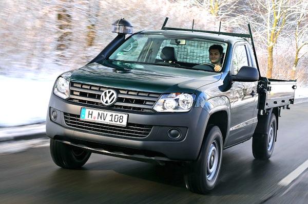 VW Amarok Macedonia September 2014. Picture courtesy of autobild.de