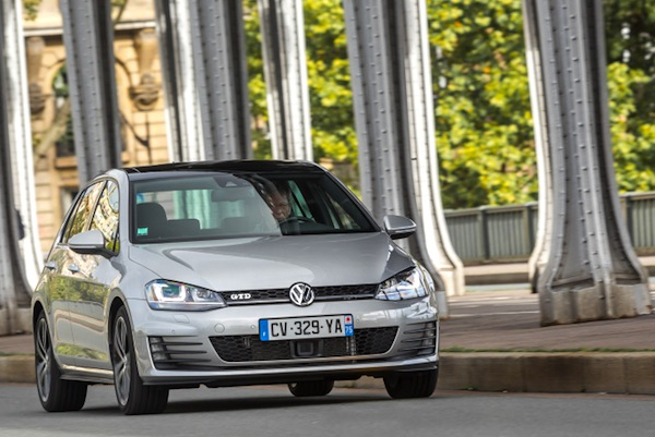 VW Golf Netherlands 2014. Picture courtesy of largus.fr