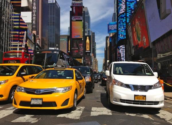 1. Toyota Camry Nissan NV200 New York