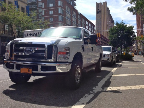 12. Ford F-350 New York
