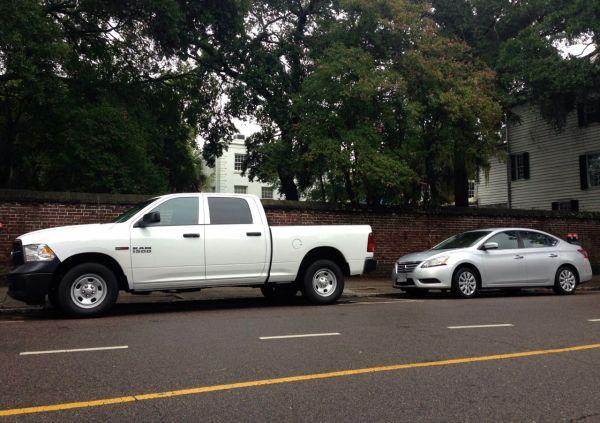 9. Ram 1500 Nissan Sentra Charleston