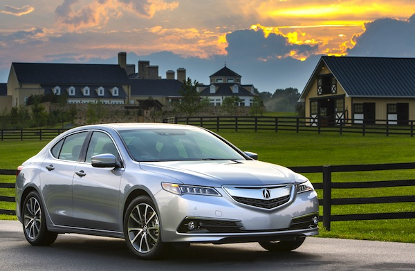 Acura TLX Canada September 2014. Picture courtesy of motortrend.com