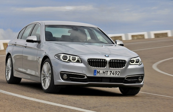BMW 5 Series South Korea June 2014