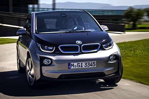 BMW i3 Norway August 2014