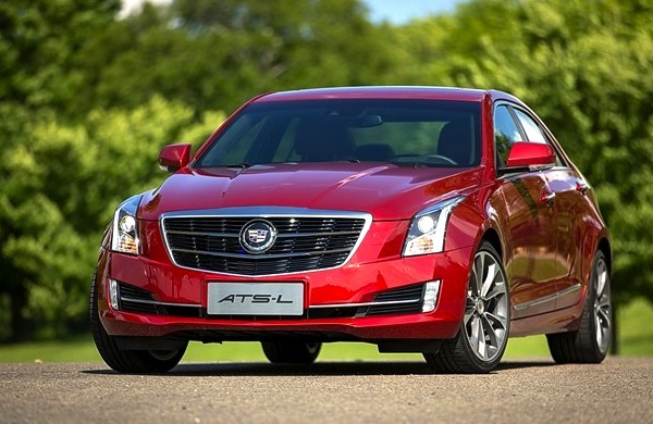 Cadillac ATS-L China August 2014. Picture courtesy of 52che.com